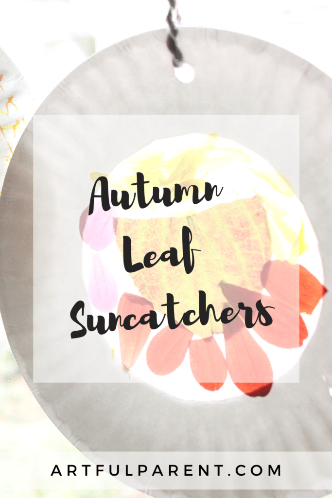 crafts with fall leaves suncatcher pinterest