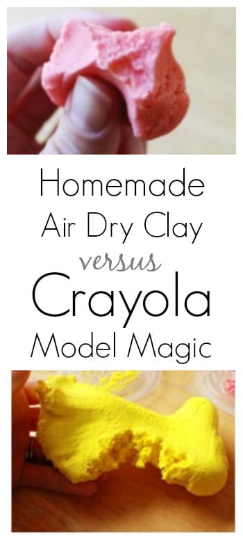 Homemade Model Magic vs Crayola Model Magic - A Comparison