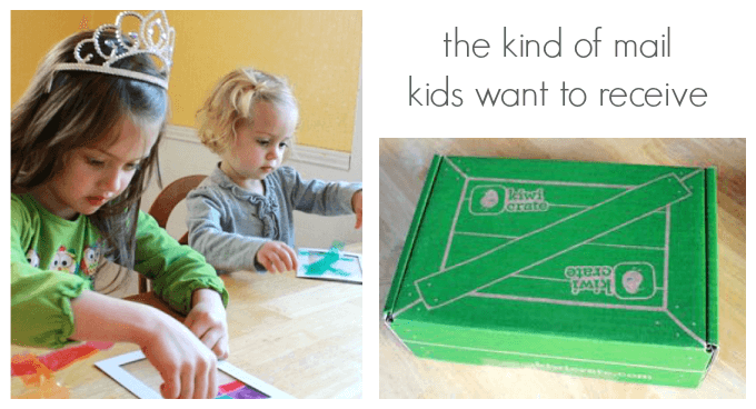 Kiwi Crate Kids Activity Kits by Mail