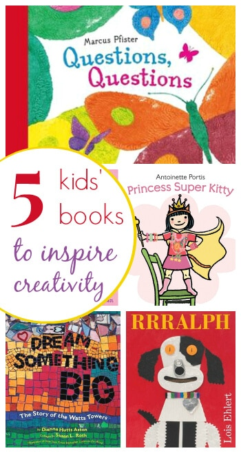 5 Picture Books for Kids to Inspire their Creativity