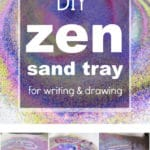 Make Your Own Zen Sand Tray for Drawing and Writing