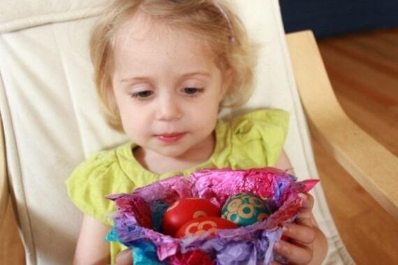 Easter Bird Nest Craft for Kids