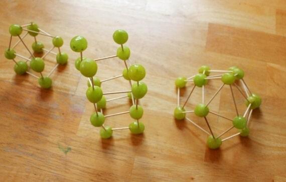 Edible Art Toothpick Sculpture