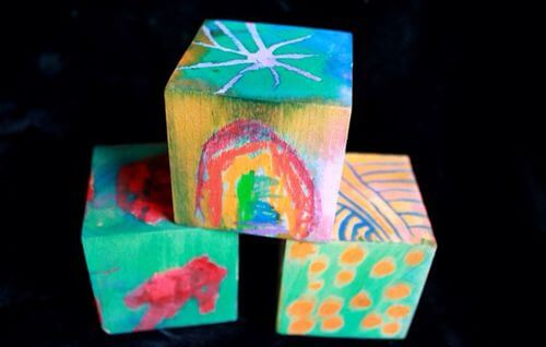 DIY Wooden blocks - 3