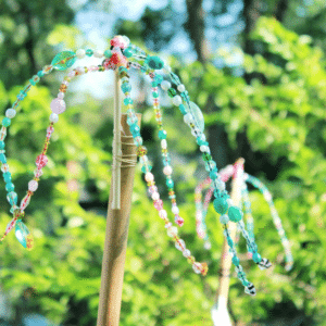 Beaded Garden Ornaments - featured image