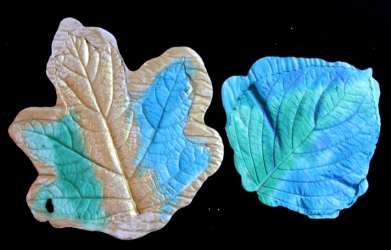 Leaf Casting with Plaster of Paris 54