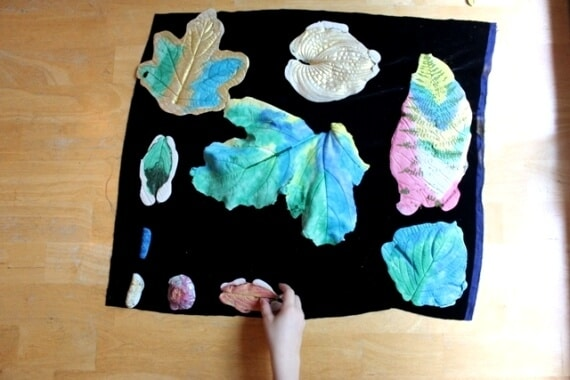 Leaf Casting with Plaster of Paris 47