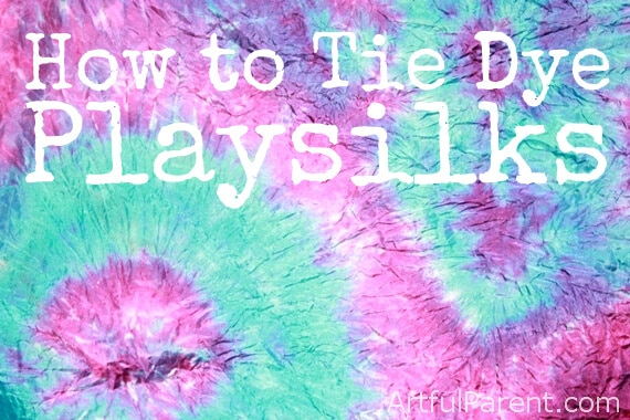 How to Tie Dye Playsilks Cover 1
