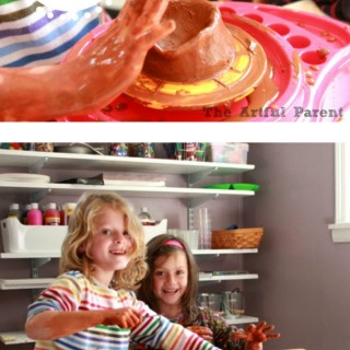 A Pottery Wheel for Kids (and Getting Over My Clay Hang Up)