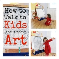 How to Talk to Kids About Their Art