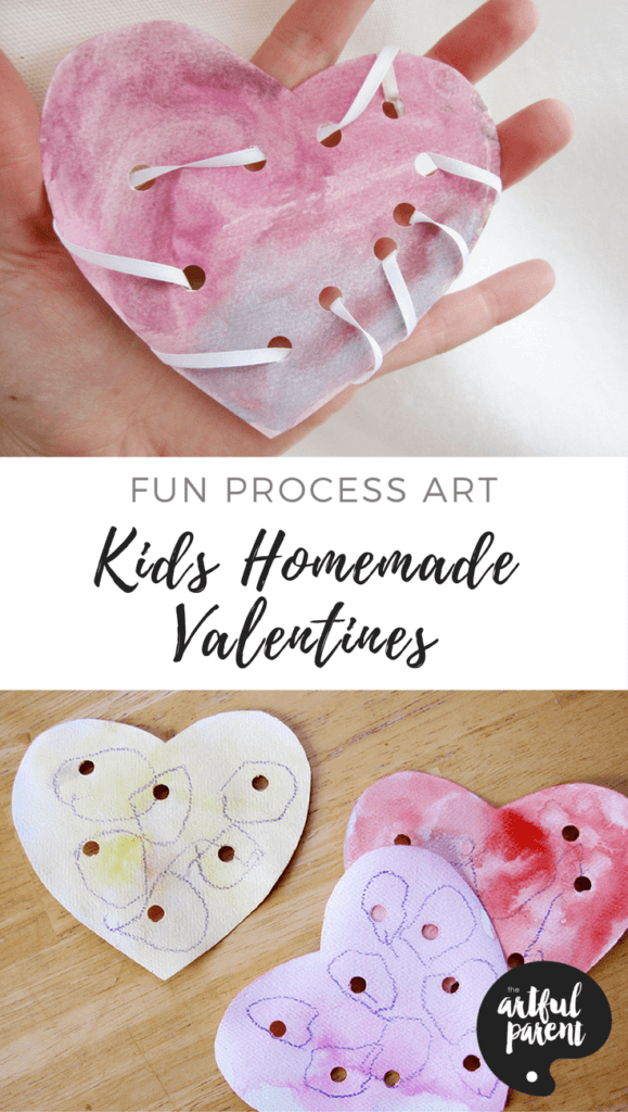 Kids homemade valentines
