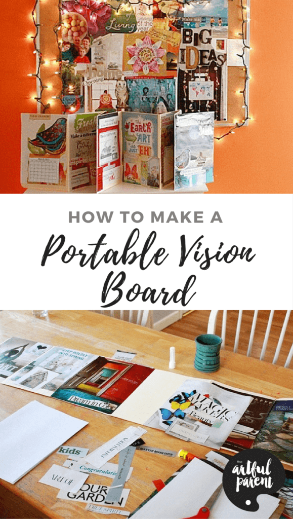 Creating a Vision Board Book - Fold-Up and Portable!