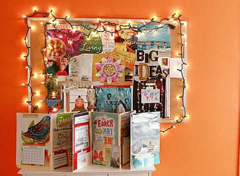 How To Make A Portable Vision Board