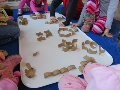 Building and Creating with Curves by Teach Preschool