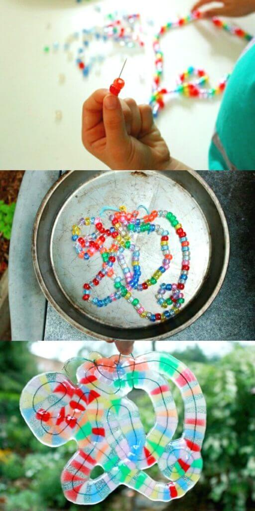 How to Make Melted Bead Art