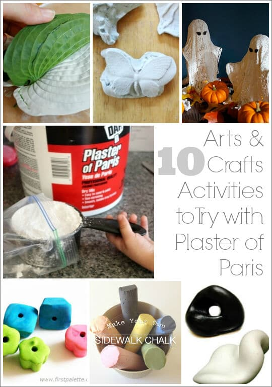 craft ideas with plaster of paris 10 plaster of crafts to try with your 7633