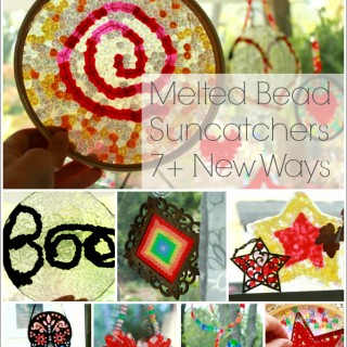Melted Bead Suncatchers 7+ NEW Ways