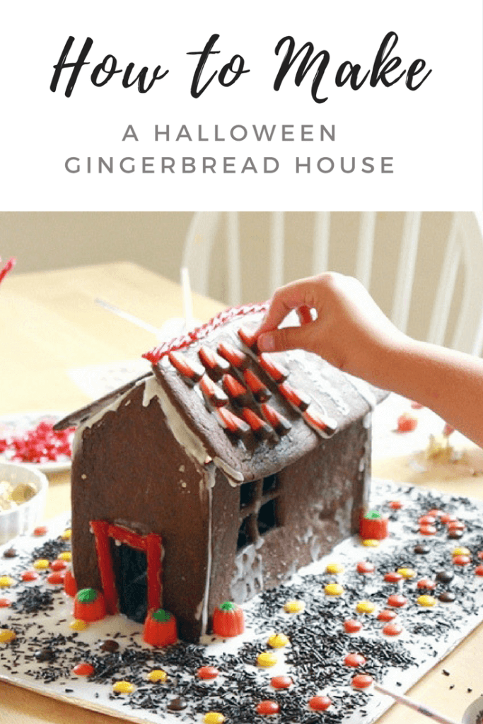 How to Make A Halloween Gingerbread House For Kids!