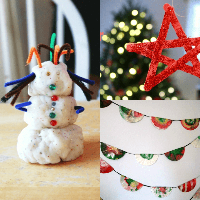 Christmas Crafts to Make with Your Kids This Month
