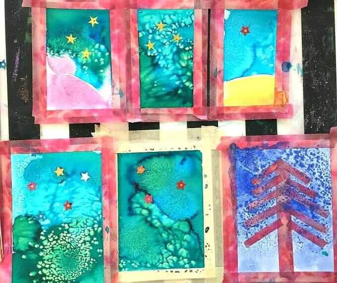 Starry Night Art Cards - card collection