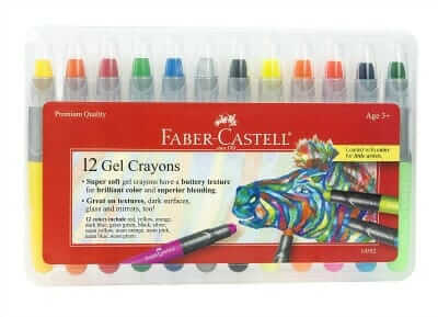 The Best Kids Art Materials - Faber Castell Gel Crayons