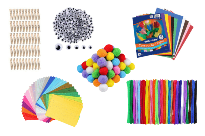 collage items for success