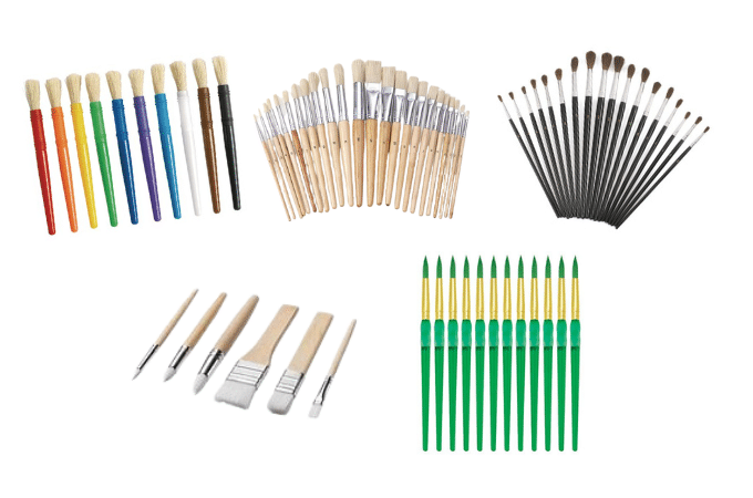 paintbrushes - tools for success