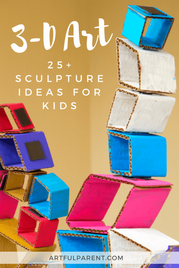 3-D Art and Sculpture Activities for Kids