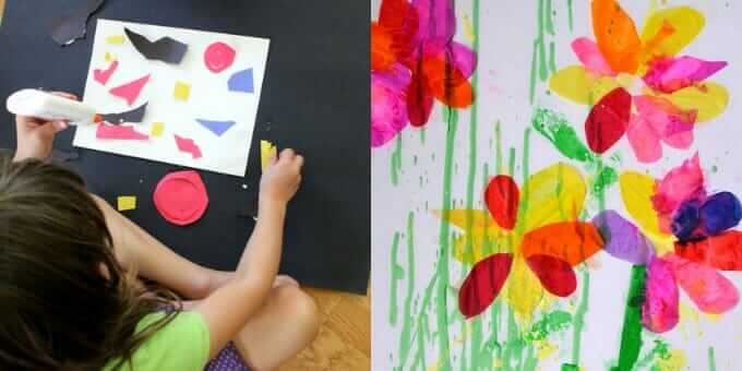 Collage Art Ideas For Kids 50 Fun Collage Activities Children Can Do