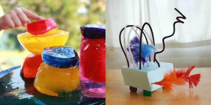 More Sculpture Ideas for Kids