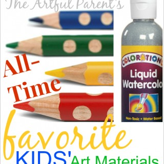 The 25 Best Kids Art Materials!
