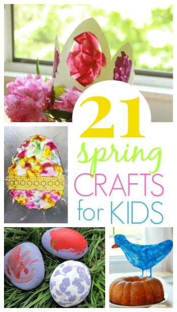 21 Spring Crafts Kids will Love on The Artful Parent
