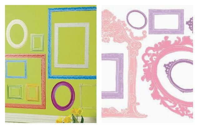 21 Ways To Display Kids Artwork   Frame Wall Decals Part 68