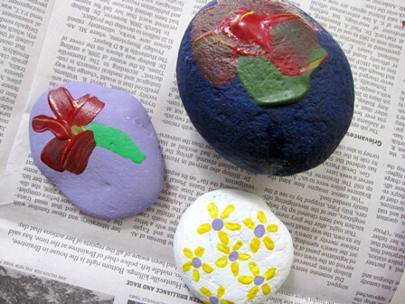 Easter Egg Rocks Painting Activity for Kids 4