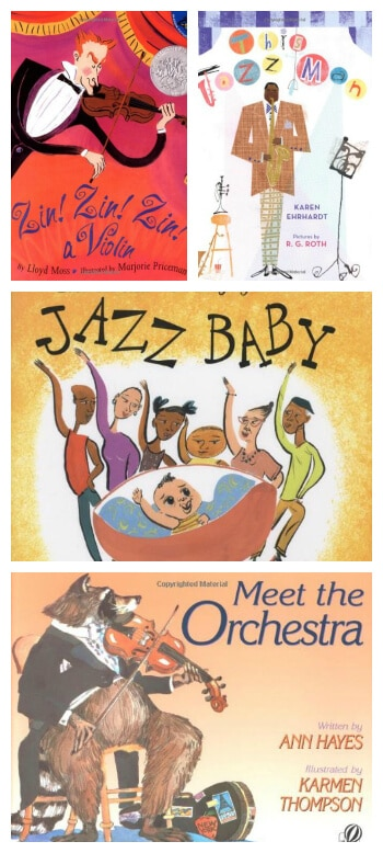 FUN Kids Books About Music - More Great Ones