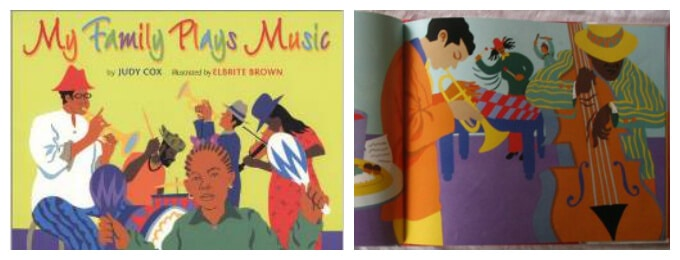 FUN Kids Books About Music - My Family Plays Music