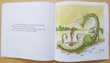 Non Traditional Princess Books for Girls - The Paper Bag Princess Interior