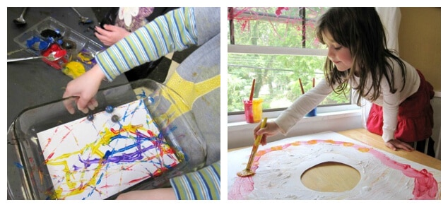Paper for Children - Paper for kids painting activities