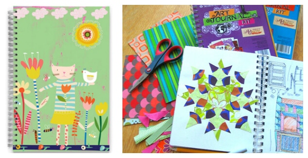 Paper for Children - Sketchbooks and art journals for kids