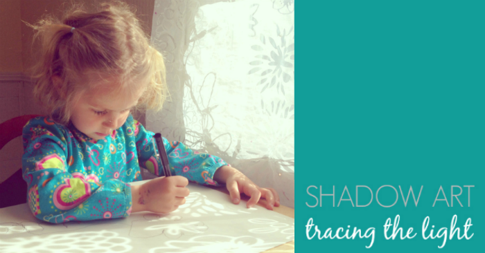 Shadow Tracing Art Activity for Kids