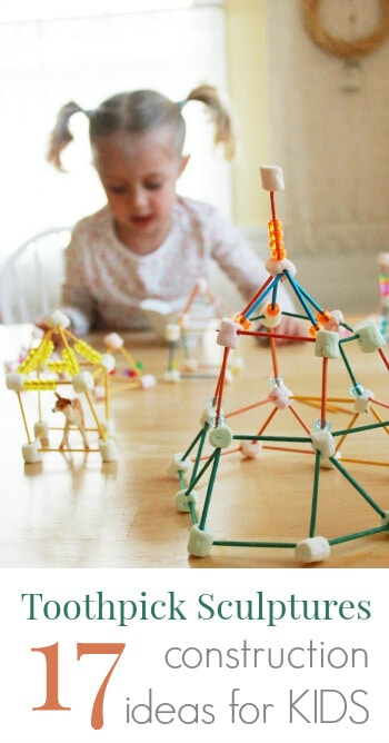photo regarding Building With Toothpicks and Marshmallows Printable titled Toothpick Sculptures for Young children 17 Toothpick Framework Designs!