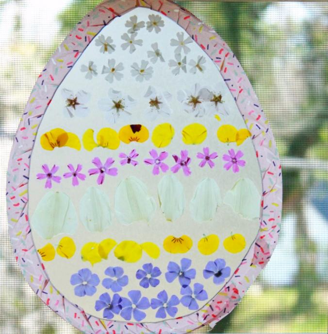 Easter Egg Suncatcher Craft