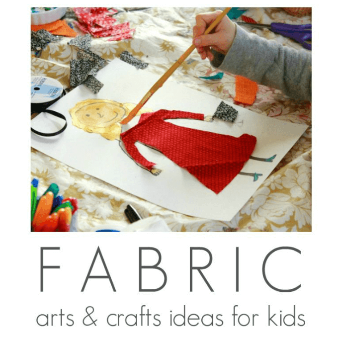 Superb Fabric Craft Ideas For Kids Part - 8: The Artful Parent