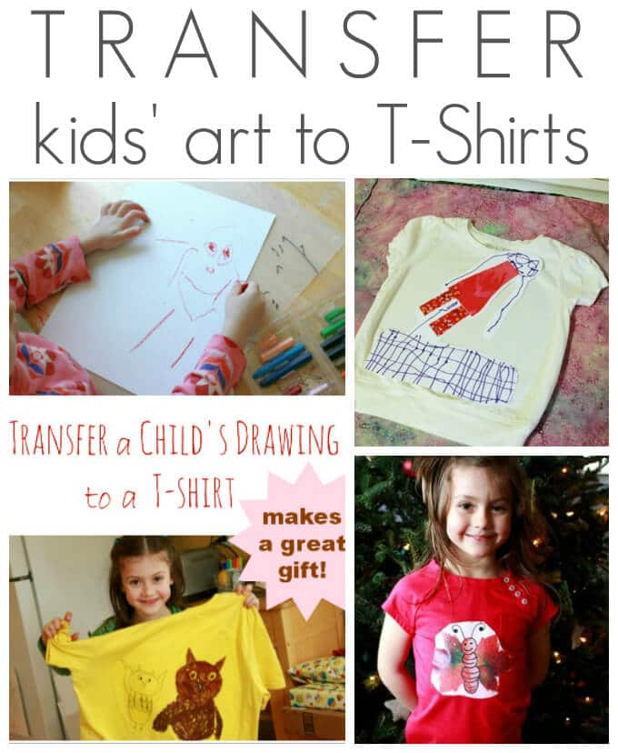 Image Transfer Fabric Art for Kids