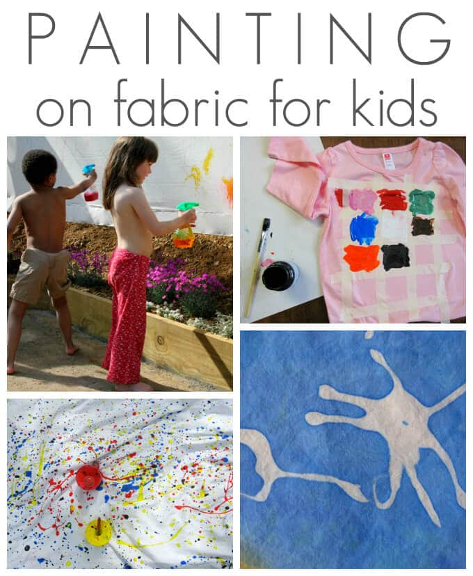 painting on fabric for kids
