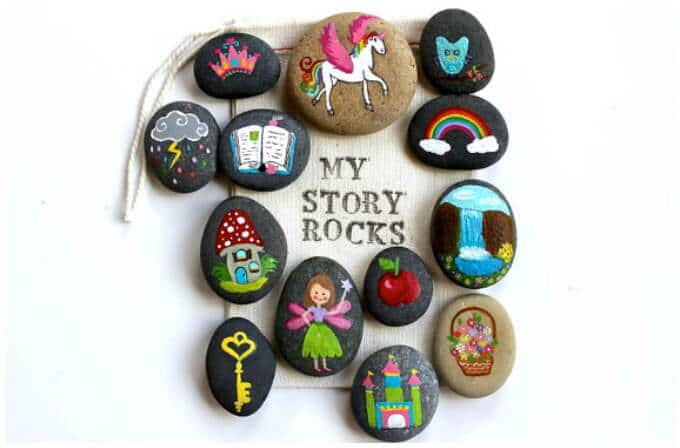 Story Stones Ideas - Story Rocks on Etsy