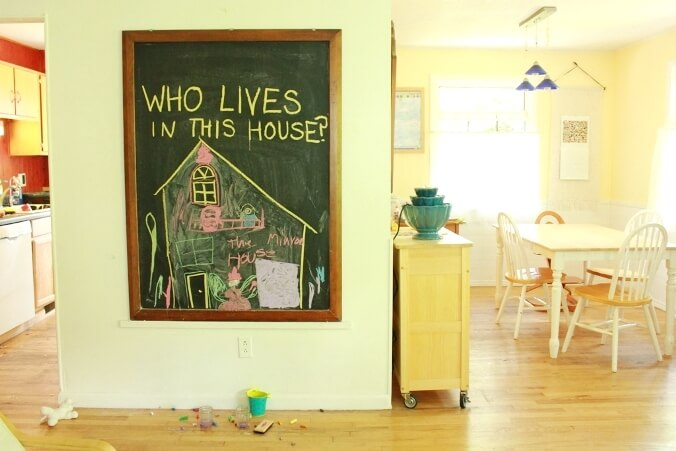 Chalkboard Drawing Prompts for Kids