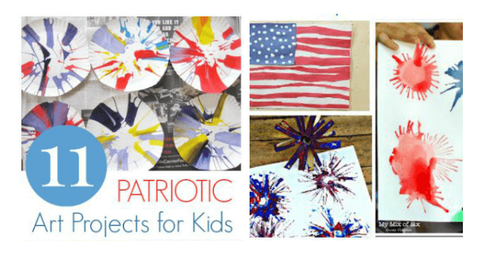 11 Patriotic Art Projects for Kids