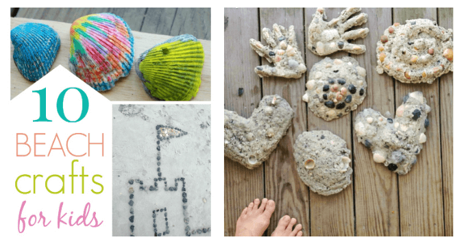 10 Ocean Crafts For Kids To Do At The Beach For A More Creative Trip
