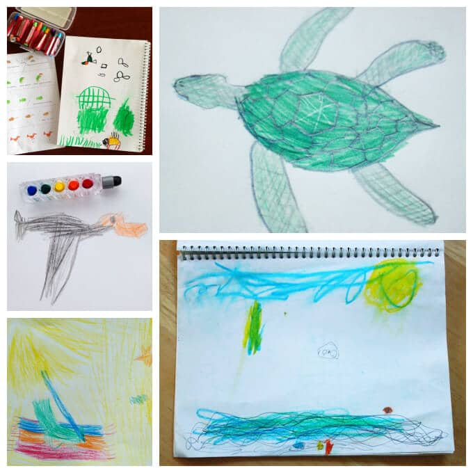 Ocean Crafts - Beach Inspired Drawings